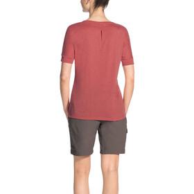 VAUDE Skomer T-shirt à col en V Femme, wild carrot